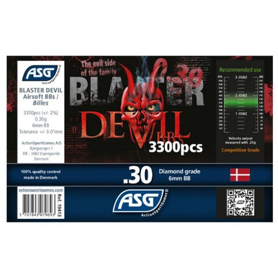 Blaster Devil 0.30g 3300 Airsoft BB