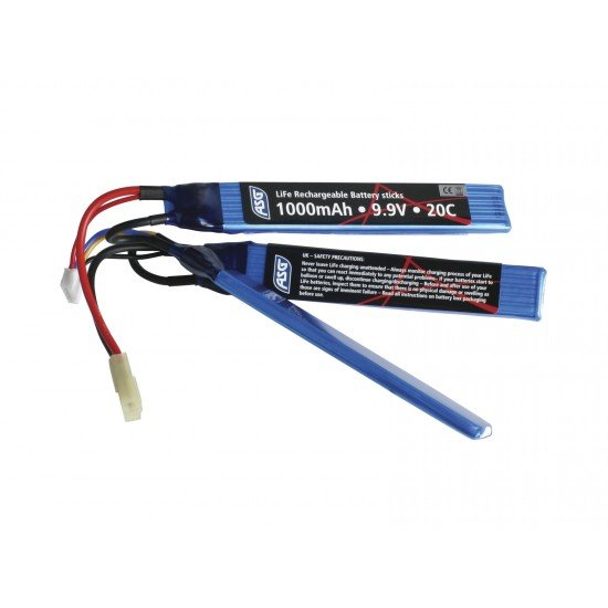 9.9V Battery 1000 mAh LI-FE sticks