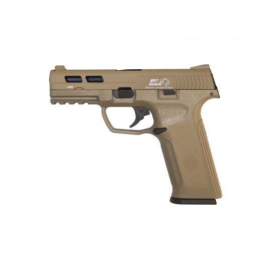 ICS XAE pistol gas blow back - Tan