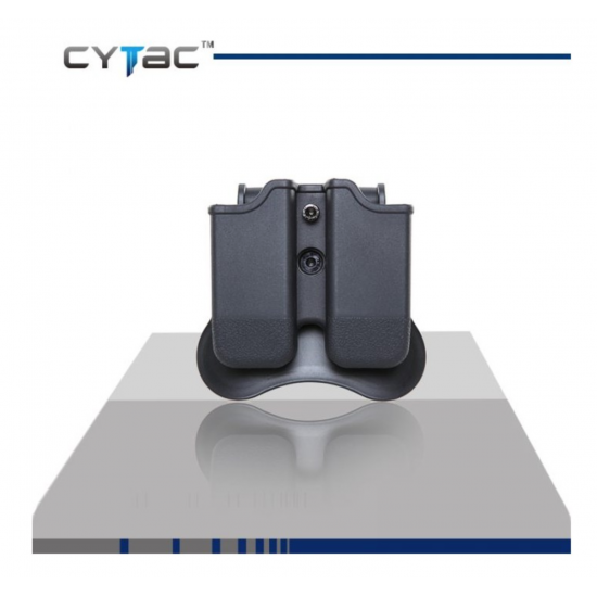 CYTAC GLOCK DOUBLE MAGAZINE POUCH