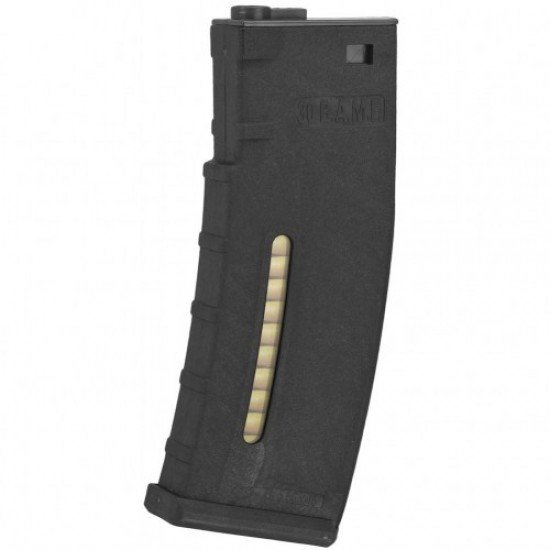 BAMF 190 Rounds Polymer Mid-Cap Magazine For M4 M16 Black
