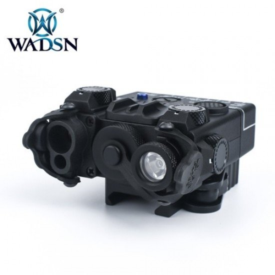 Wadsn DBAL-A2 Aiming Devices Red&IR Laser - Black