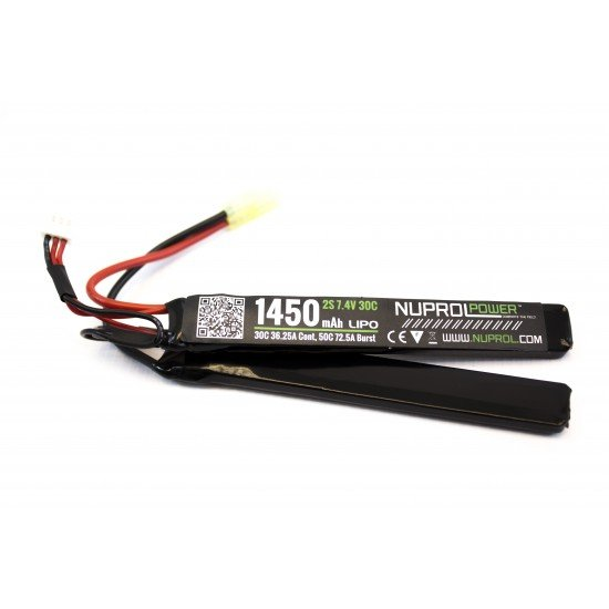 NP POWER 1450MAH 7.4V 30C LIPO NUNCHUCK TYPE
