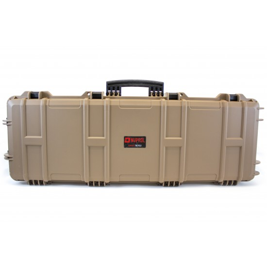 NUPROL LARGE HARD CASE (WAVE FOAM) - TAN