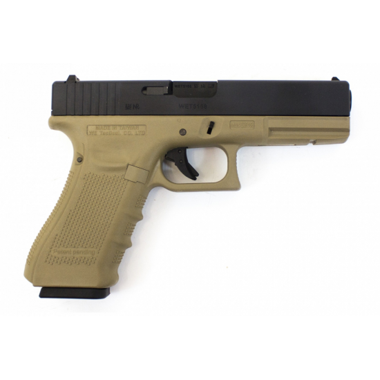 WE EU17 (G17) GEN 4 PISTOL-TAN
