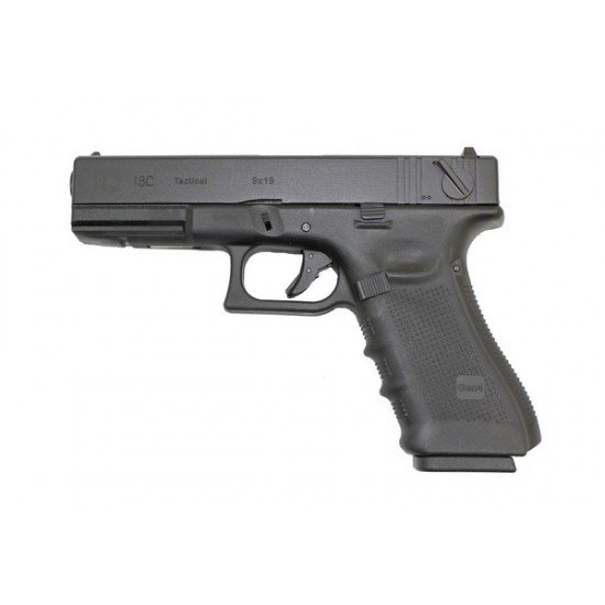 WE EU18 (G18) GEN 4 PISTOL - BLACK