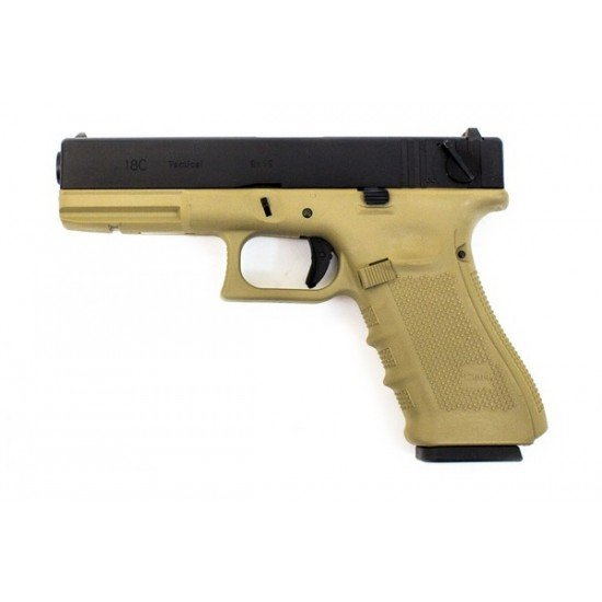 WE EU18 (G18) GEN 4 PISTOL - TAN
