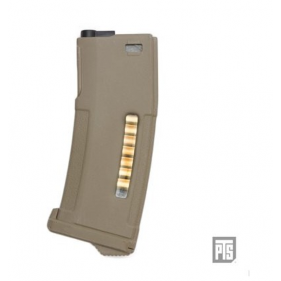 PTS ENHANCED POLYMER MAGAZINE (EPM AEG) - DARK EARTH