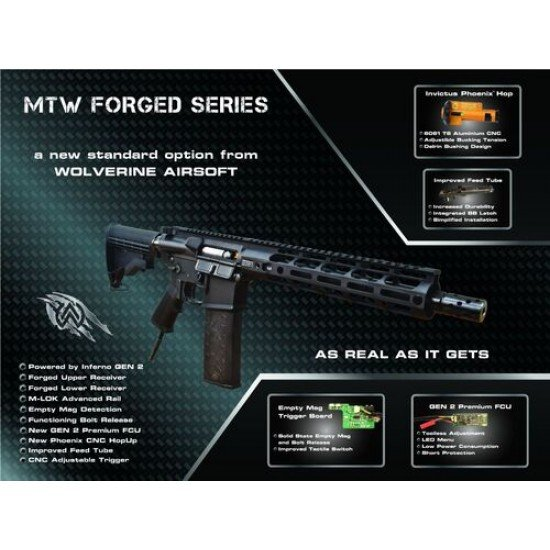 WOLVERINE AIRSOFT MTW 10inch FORGED EDITION